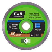 Exchange-A-Blade Continuous Diamond Blade - Green Series - 4""