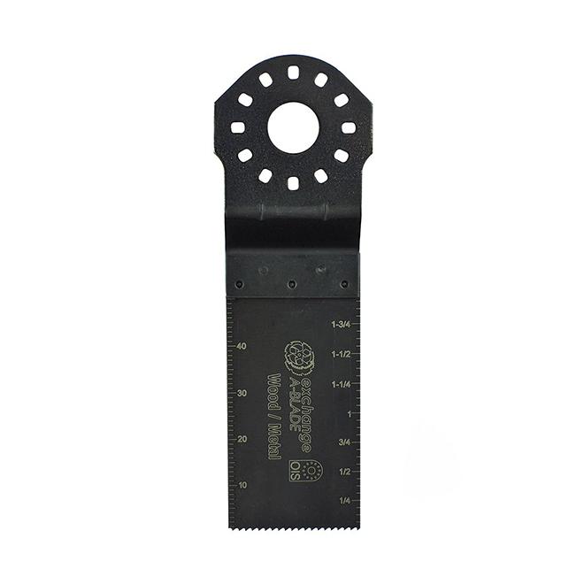 EAB Construction Pro 1 3/8-in Flush Cut Blades - Bi-Metal - 1 1/2-in cutting Depth - 5 Per Pack