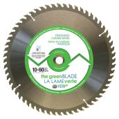 """Green"" Finishing Blade Carbide Blade - 10 in. - 60 Teeth - Exchangeable"