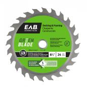 """Green"" Framing Carbide Blade - 6 1/2 in. - 24 Teeth - Exchangeable"