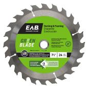 """Green"" Framing Blade - 7 1/4 in. - 24 Teeth - Exchangeable"