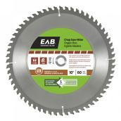 "Chop Saw Carbide Blade - 10"" - 60TH"