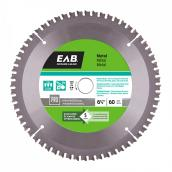 Metal Carbide Circular Saw Blade - 60 TH - 6 1/2