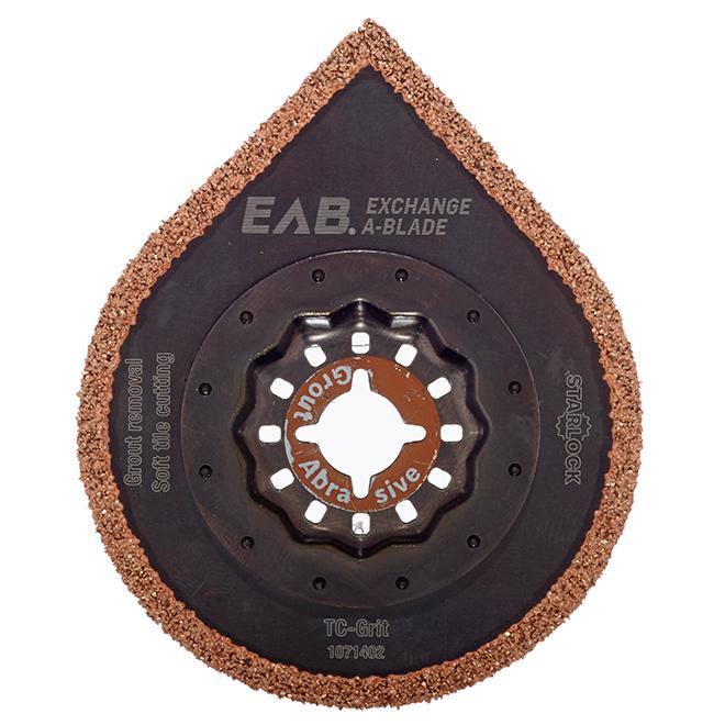 EAB Starlock Oscillating Grout and Mortar Blade - Bi-Metal - 1 Per Pack - 2 3/4-in W