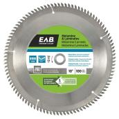 Melamine Carbide Circular Saw Blade - 100 TH - 10""