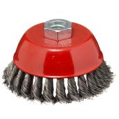 Knotted Wire Brush - Carbon Steel -  4