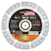 Industrial Diamond Saw Blade 4 1/2 in. - Exchangeable