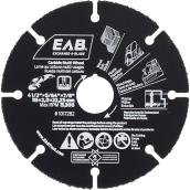 Multi Wheel Saw Blade - Carbide - 4 1/2 in. - Exchangeable