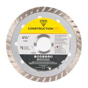Continuous Circular Saw Blade Pro Diamond - Turbo - 4 1/2'' - Échangeable