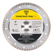 Continuous Circular Saw Blade Pro Diamond - Turbo - 7'' - Exchangeable