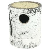 Log Birdhouse - Insulating Polyurethane Foam