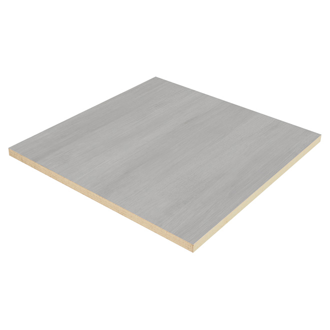 "Embassy Ceiling Tiles - 1/4"" x 24"" x 24"" - Grey"