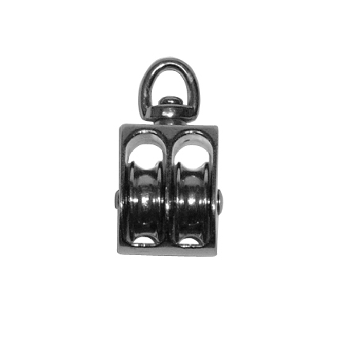 1-in double pulley