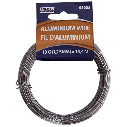 Aluminum Wire Roll - 15.4 m - 18 Gauge