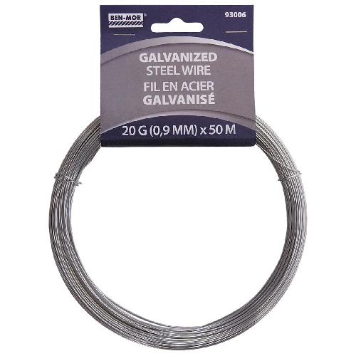 Galvanized Steel Wire Roll - 50 m - 20 Gauge