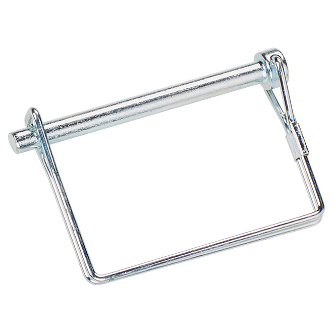 """Square Quick Pin - Zinc-Plated - 1/4"""" x 21/2"""""""