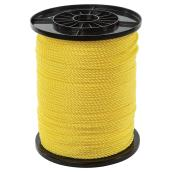 Twisted Polypropylene Rope - 3-Strand - 3/16