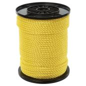 Twisted Polypropylene Rope - 3-Strand - 5/16