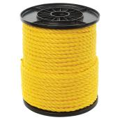 Twisted Polypropylene Rope - 3-Strand - 3/8