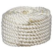Twisted Nylon Rope - 3-Strand - 1/2