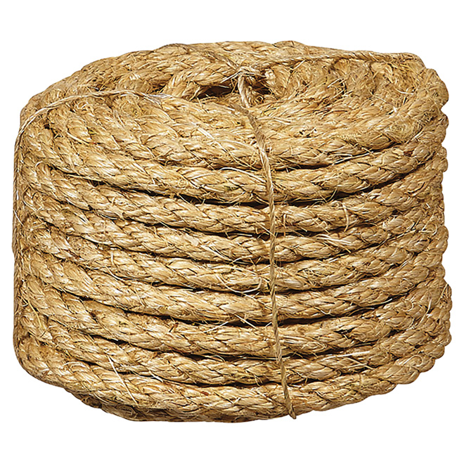 Sisal Rope - Twisted - 3/8