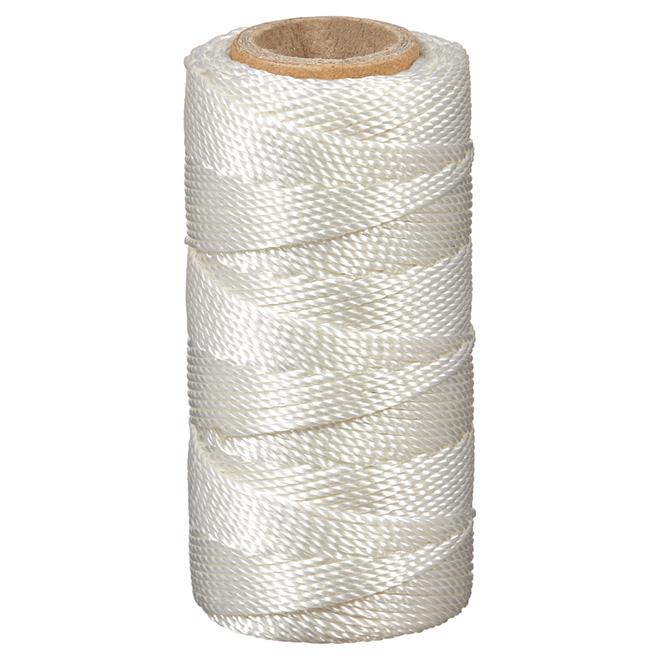 Polyester Seine Twine - Twisted - #18 x 250' - White