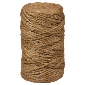 Twisted Jute Twine - 2-Strand - Medium - 495' - Brown