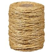 Twisted Sisal Tying Twine - 2-Strand - 300' - Natural