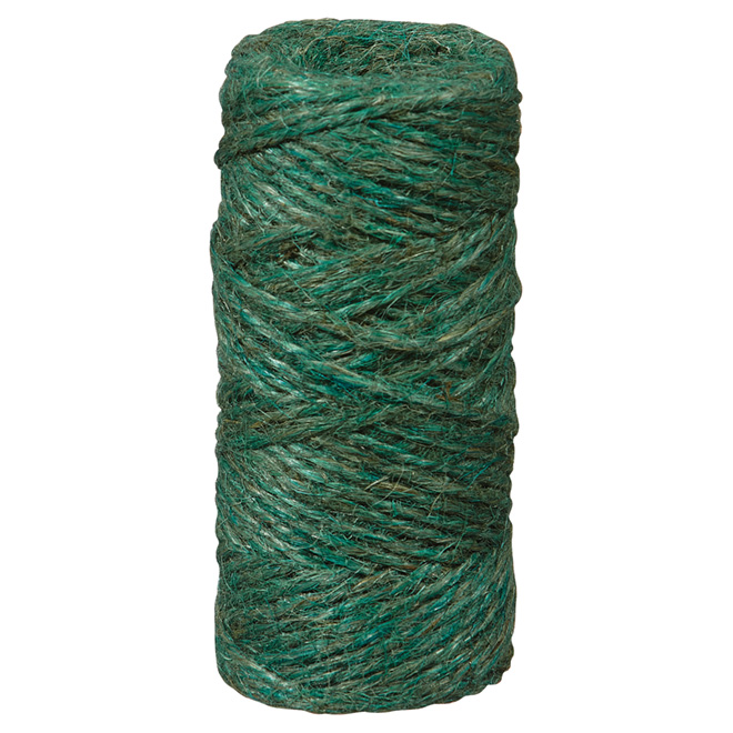 Twisted Jute Twine - 2-Strand - Large - 200' - Brown