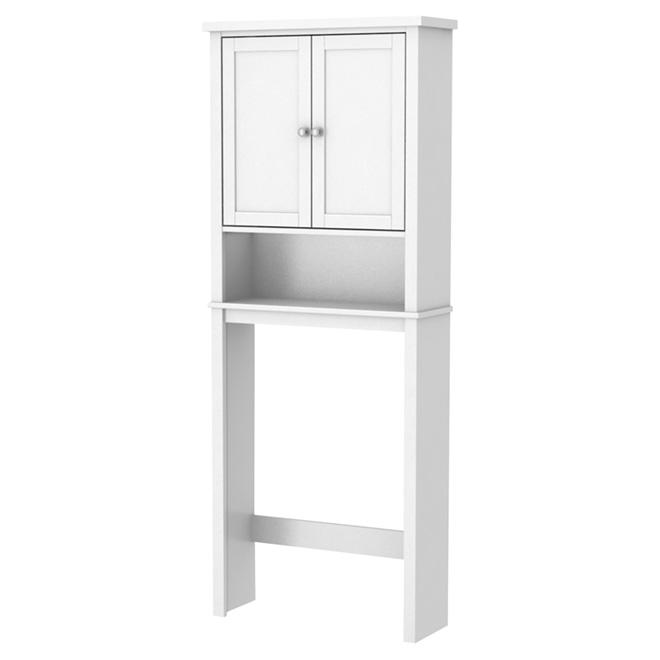 Toilet Cabinet   White