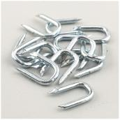 "Galvanized Staples - #9 - 7/16"" - 89/Pk"