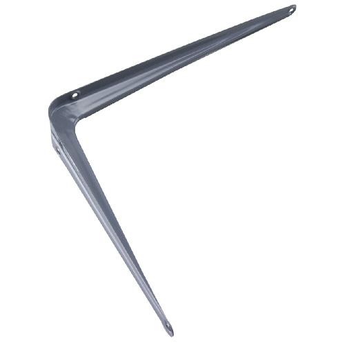 """Support de tablette en acier, 10"""", gris"""