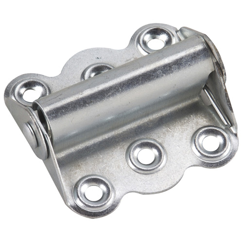 "Zinc Finish Steel Spring Hinge - 3"""