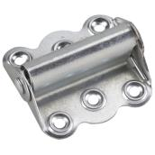 Zinc Finish Steel Spring Hinge - 3""