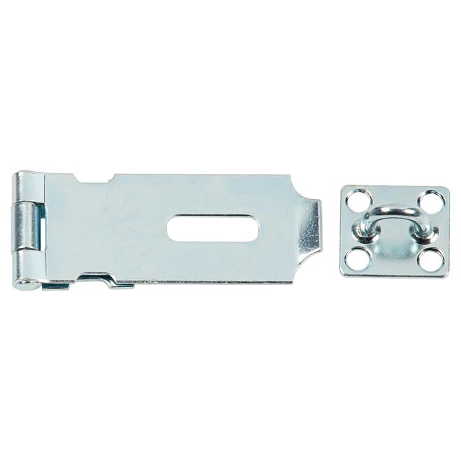 "Hasp - Light Duty - 25/8"" - Steel - Zinc-Plated"