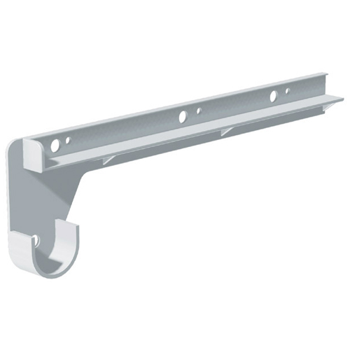 "Plastic Shelf and Rod Supports - 12"" - 2-Pack"
