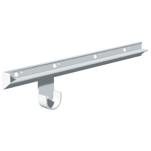 """Plastic Shelf and Rod Supports - 16"""" - 2-Pack"""
