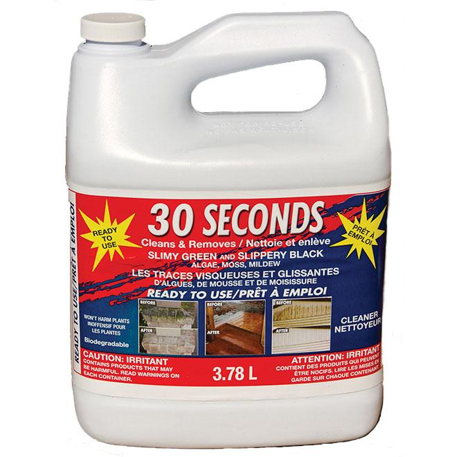 30 Seconds Outdoor C Nettoyant pour l'extérieur « 30 Seconds », 3,78 l 30SEC4