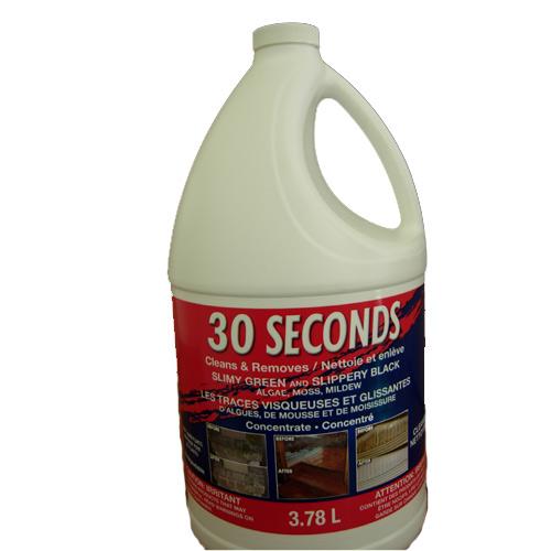 30 Seconds Outdoor C Nettoyant pour l'extérieur concentré « 30 Seconds », 3,78 l 30SECCON