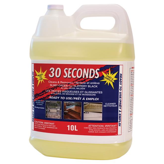 30 Seconds Outdoor C Nettoyant pour l'extérieur, PAE, 10 L 30SEC10