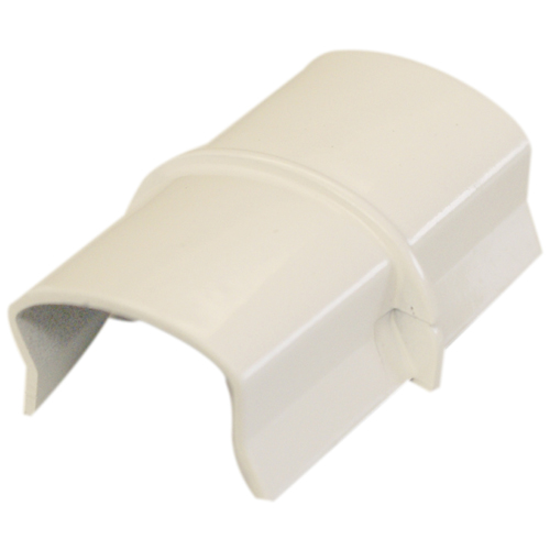 Coupling Wire Cover - PVC - White
