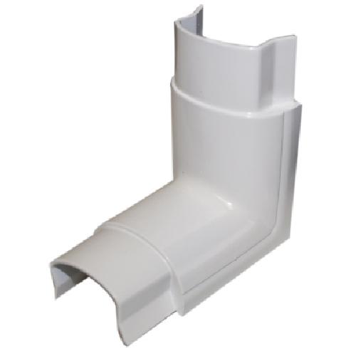 Cache-fil coude intérieur, 90 degrés, blanc