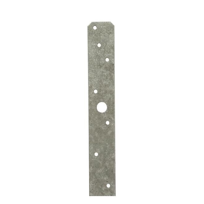 Simpson Strong Tie - Medium Z-Max Strap Tie - Galvanized Steel - 0,56-in x 18-in