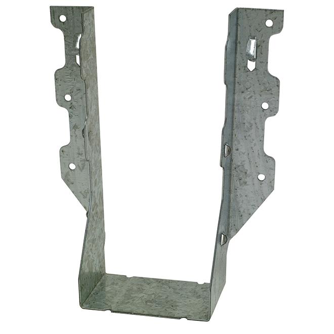 Étrier à solive double Simpson Strong-Tie, acier galvanisé calibre 18, 2 po x 8 po