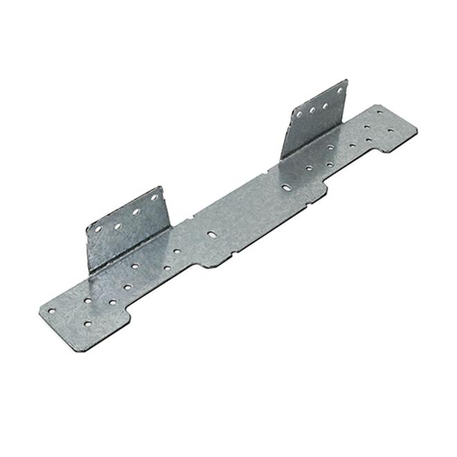 Simpson Strong-Tie Z-Max Adjustable Stair-Stringer Connector - 18-Gauge Galvanized Steel
