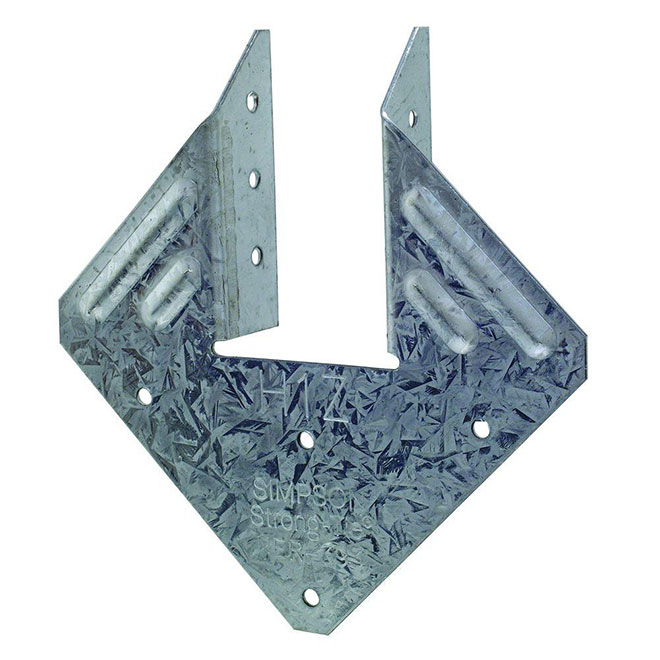 Anchor Plate - Galvanized Steel - 18-Gauge