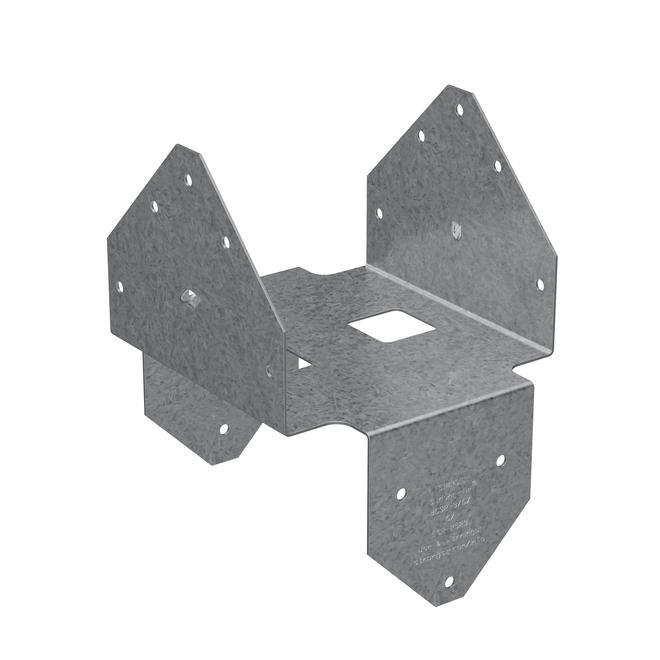 Capuchon de poteau 3 x 6 po ZMAX Simpson Strong-Tie, acier galvanisé calibre de 18