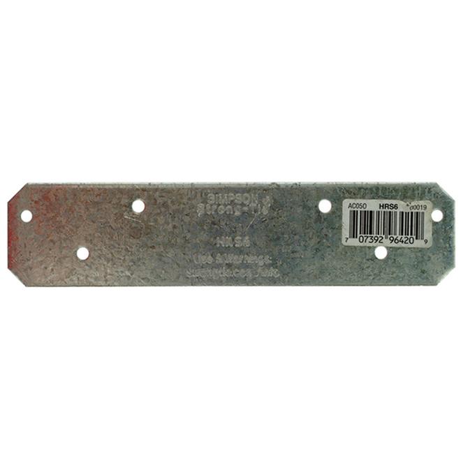 Ancrage d'attache robuste ZMax Simpson Strong-Tie, acier galvanisé calibre 12, 6 po