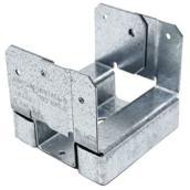 Simpson Strong-Tie ZMAX 4-in x 4-in Adjustable Post Base - 16-Gauge Galvanized Steel