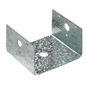 Demi-base de poteau ZMAX Simpson Strong-Tie, 4 po x 4 po, acier galvanisé calibre 18